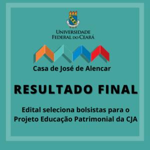 Resultado final - Edital 01/2021